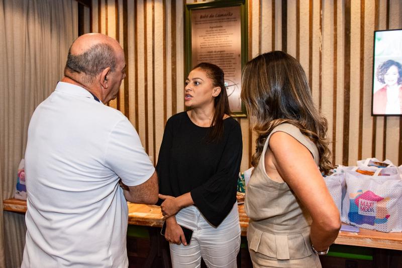 Fernando Travessoni, Michele Ribeiro e Marcia Travessoni