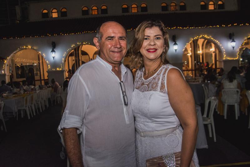 Jose Carlos e Flavia Quezado