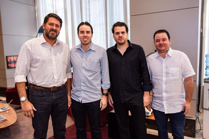 Rafael Rodrigues, Andre Melo, Humberto Fontenele  e Portela Aguiar