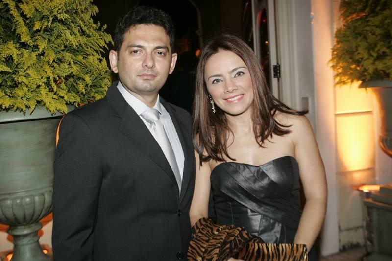 Wagner Borges e Valeria Abreu
