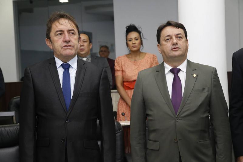Adail Junior e Benigno Junior