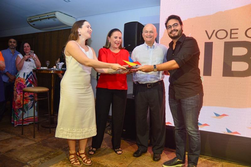 Bia, Beatriz, Lauro Fiuza e Vinicius Machado