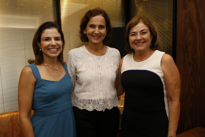 Carol Bezerra, Izolda Cela e Ana Maria Studart