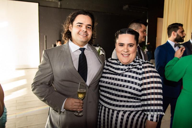 Carlos Rodrigues e Maria Luiza