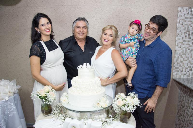 Mariana Simonete, LC e Adriana Moreira, Leonardo e Cecilia Aguiar