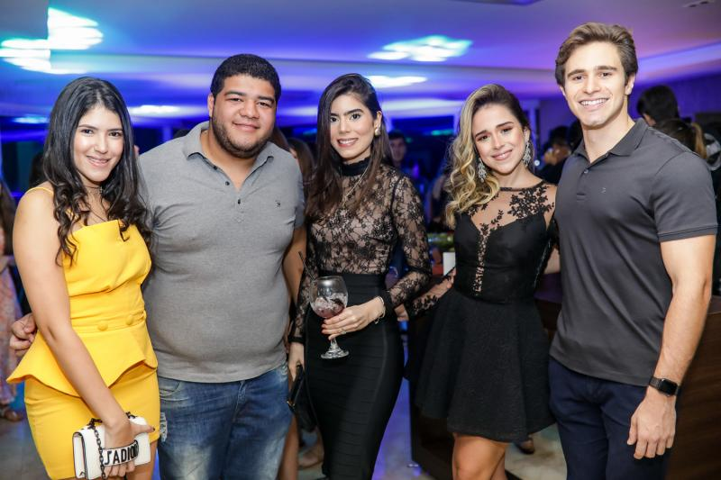 Marina Fujita, Anderson Queiroz, Leticia Cavalcante, Marcela Cidrao e Gustavo Dourado