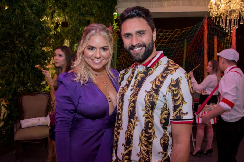 Larissa Menezes e Joao Neto