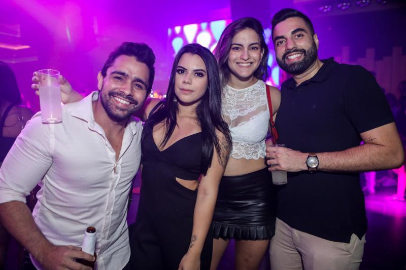 Renato Paz, Bianca Prado, Vanessa Sales e Caio Cesar