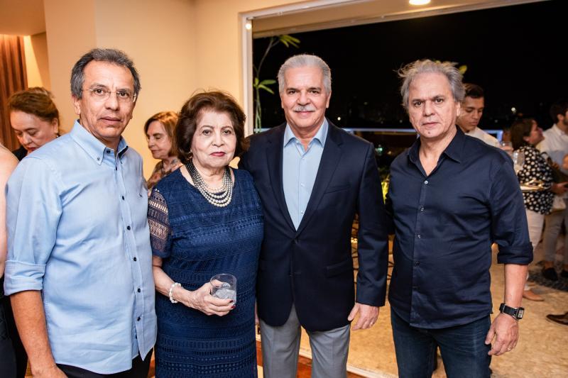 Eduardo Rolim, Edir Rolim, Pio Rodrigues e Ricardo Rolim