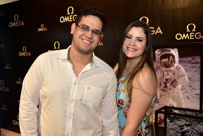 Lucas Duarte e Natasha Oliveira