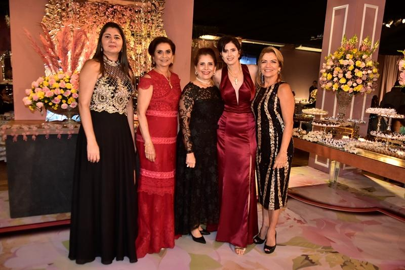 Luciana Teixeira, Marilena Campos, Eunina Pinto, Lilian Campos Soares, Ana Pinto