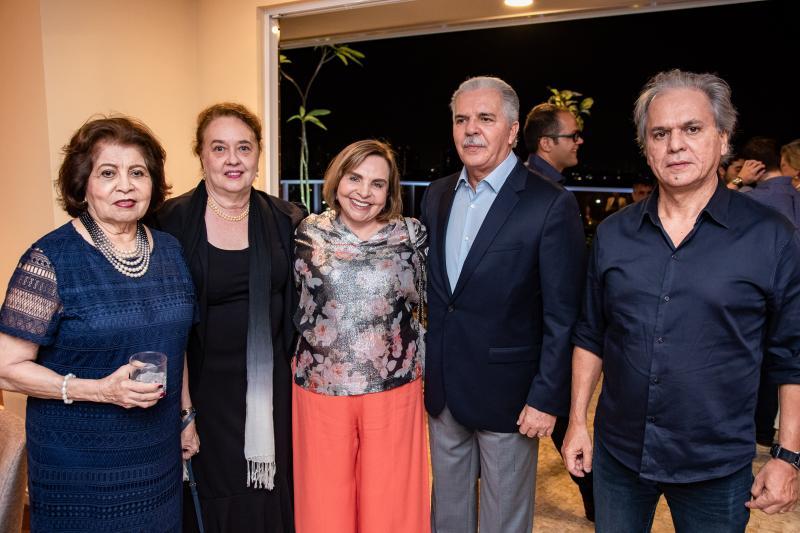 Edir Rolim, Sonia Araujo, Marise Rolim, Pio Rodrigues e Ricardo Rolim