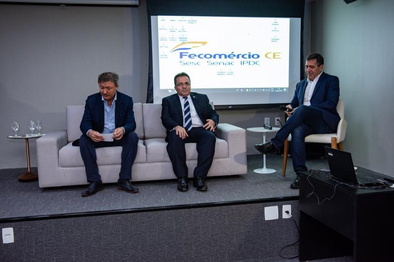 Mauricio Filizola, Romildo Rolim e Luiz Gastao Bittencourt