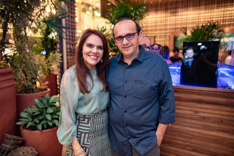 Claudia Alexandre e Manuel Pontes