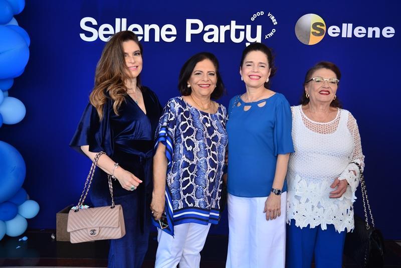 Fabiana e Lucia Lustosa, Evelucia Melo e Ivanisia Farias