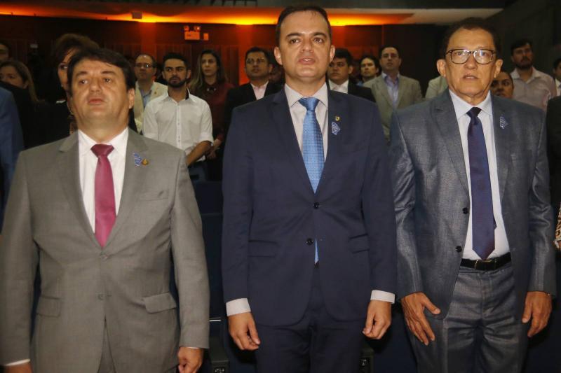 Benigno Junior, Fernando Santana e Elpidio Nogueira