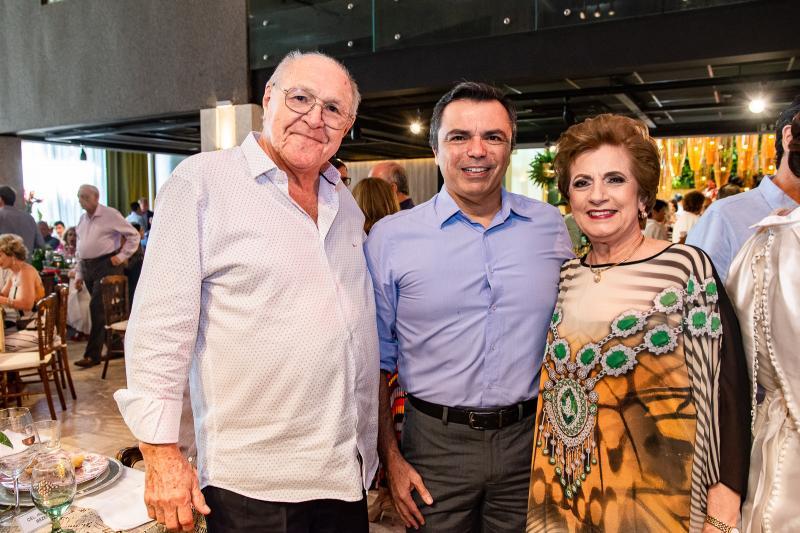 Luis Marques, Juvencio Viana e Regina Aragao