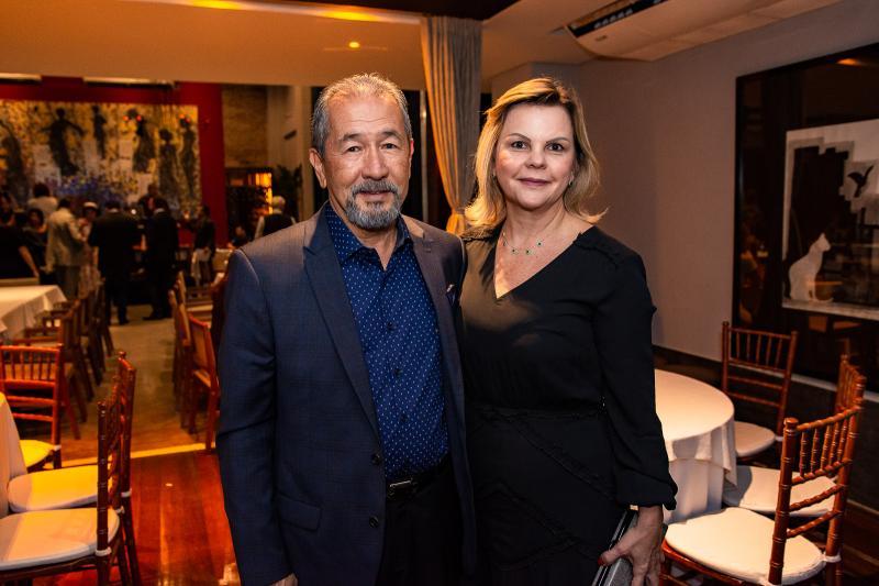 Coronel Romero e Rose Saraiva
