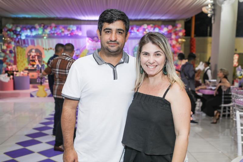 Emanuel Nobre e Tatiana Lebre