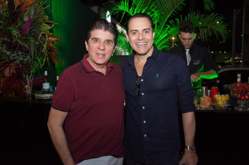 Dito Machado e Francisco Campelo