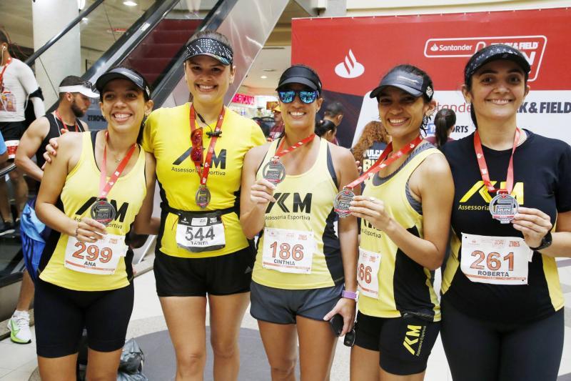 Carol Patricio, Tabita Cavalcante, Cinthia Maia, Talita e Roberta Patricio