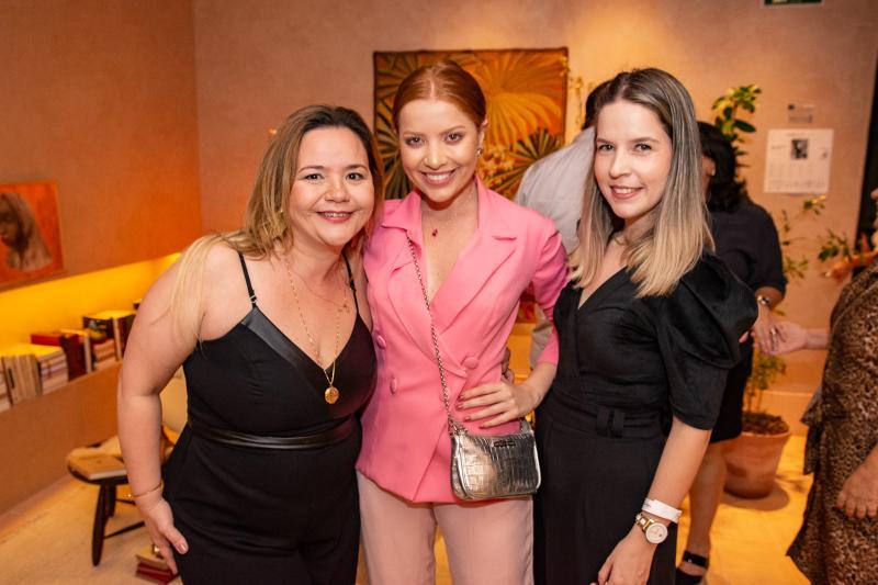 Amanda Arruda, Fernanda Borges e Rebeca Moura