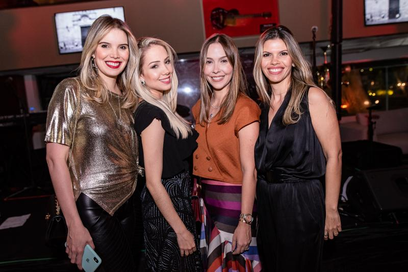 Natalia Ponte, Camila Guizard, Rafaela Asfor e Roberta Sicchhierolli