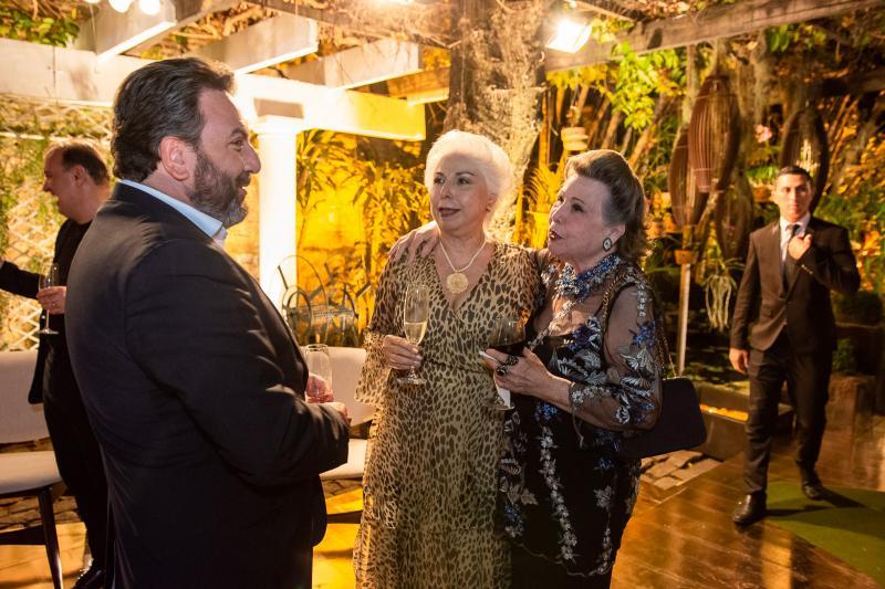 Mario Sergio Garcia, Alodia Guimaraes e Marilza Pessoa
