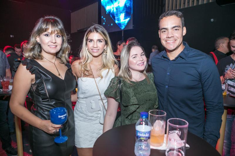 Rebeca Barsileiro, Sarah Gadelha, Alice Medeiros e Diego Bira
