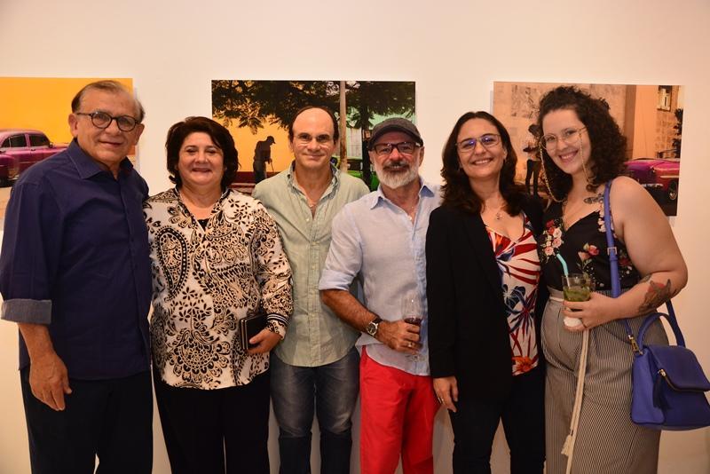 Inocencio Uchoa, Regina Nepomuceno, Luiz Carlos, Jose Willian Mota, Marisa Santos e Eduarda Silveira