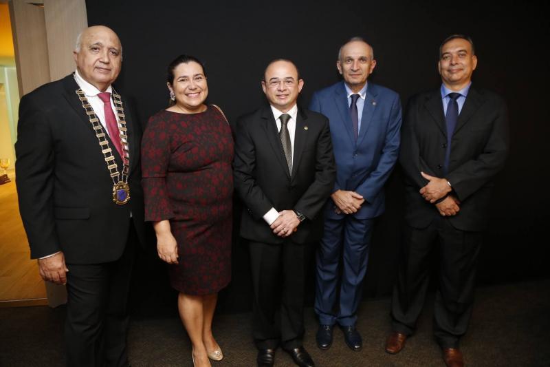 Epitacio Vasconcelos, Monica e Sergio Aguiar, Licinho Correa e Madson Cardoso