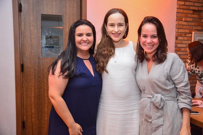 Grayce Kelly, Bia Fiuza e Emanuela Bezerra