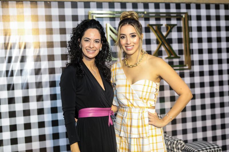 Luciana Fiuza e Natalia Ximenes
