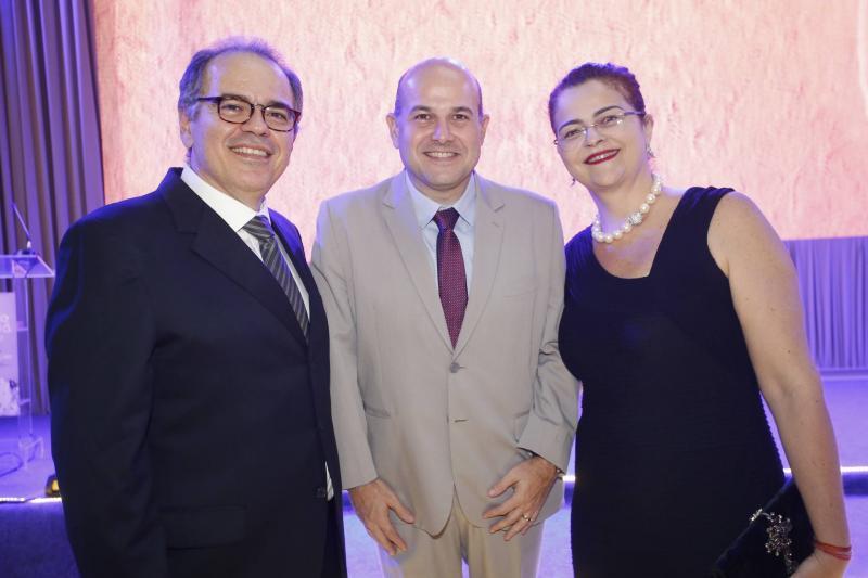 Democrito Dummar, Roberto Claudio e Luciana Dummar 1