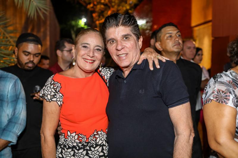 Clarissa Alemcar e Dito Machado