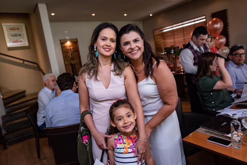 Ticiana Leitao, Gabriela Leitao e Celi Gomes
