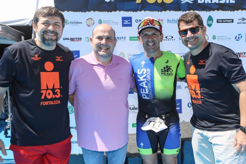 Elcio Batista, Roberto Claudio, Erick Vasconcelos e Rogerio Pinheiro