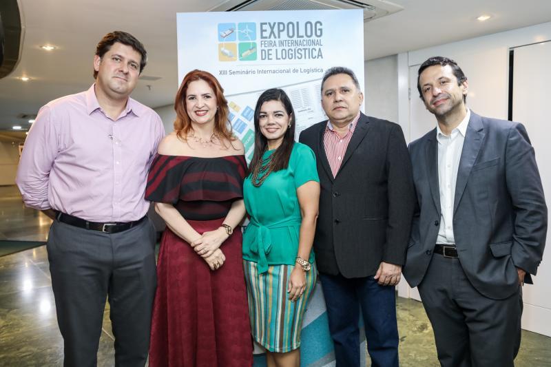 Rafael Rodrigues, Enid Camara, Poliana Brandao,  Expedito Esio e Fred Albuquerque
