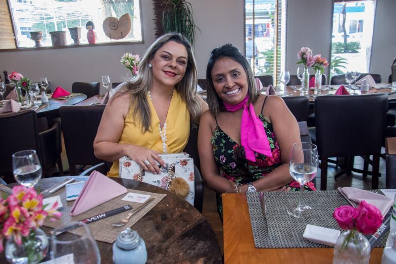 Ticiana Salmin e Juvania Soares