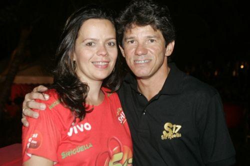 Larissa e Carvalhinho
