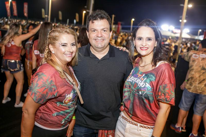 Beth Pinto, Fernando Ferrer e Adriana Viana