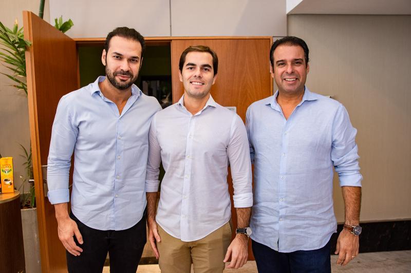 Thiago Albuquerque, Thiago Nejem e Fabio Campos