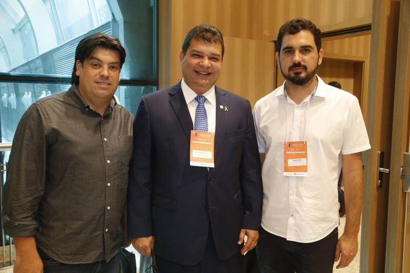 Leo Farias, Fabio Ribeiro e Thiago Vidal