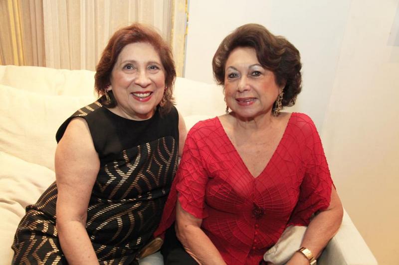 Ana dos Santos e Yolanda Vasconcelos