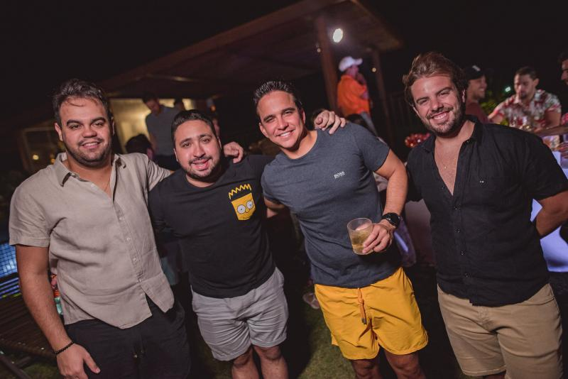 Ivo Dias, Catatau, Panta Neto e Claudio Nelson