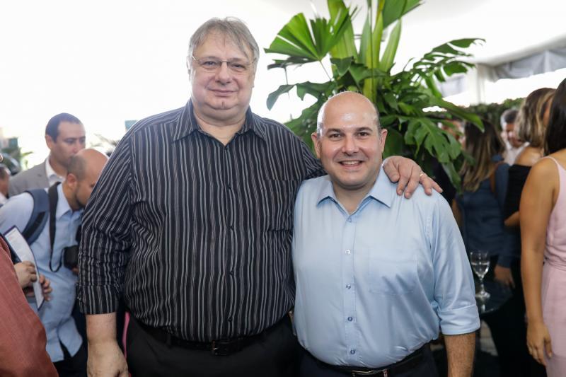 Moroni Torgan e Roberto Claudio