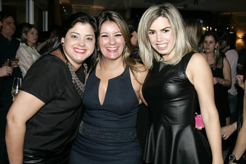Viviane Dalencar, Tatiana Luna e Dany Cordeiro