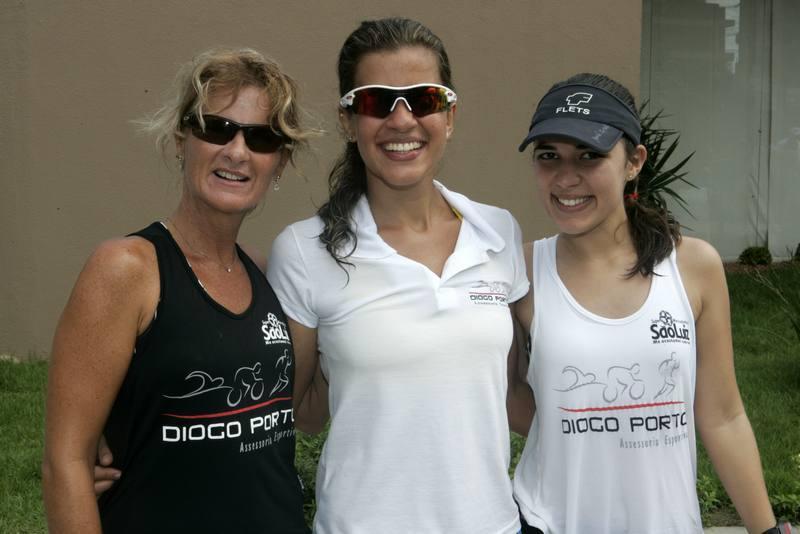 Debora Porto, Rita Braga e Vanessa Louise