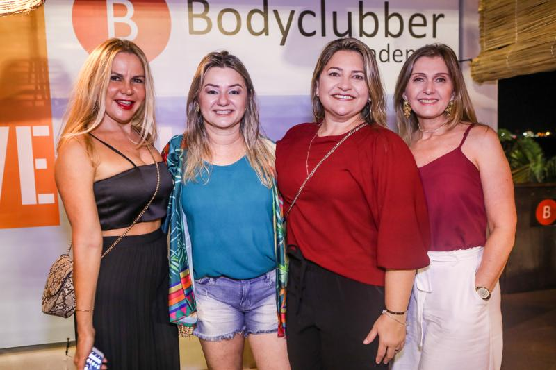 Ivete Rodrigues, Vanusa Saboia, Cristina Aguiar e Carla Aguiar