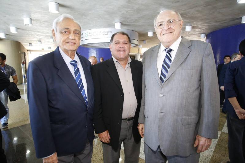Leorne Belem, Luiz Filho e Luiz Marques